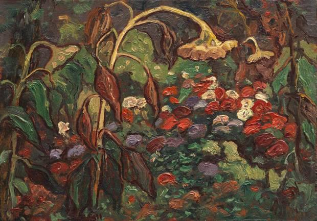 Tangled Garden, 1916