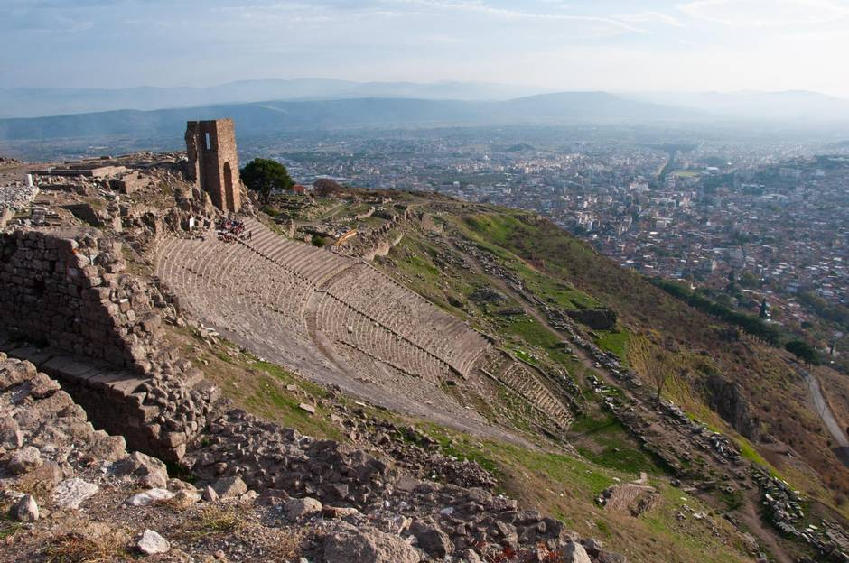 City of Pergamon's ancient appeal spans millennia