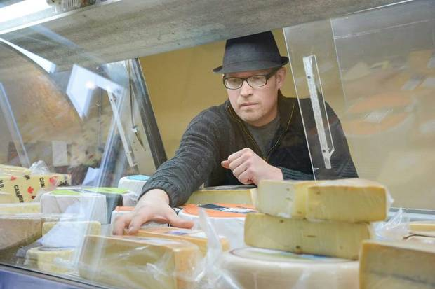 Tor Krueger of Udder Way Artisan Cheese Co., in Stoney Creek, Ont., is struggling with high electricity prices.