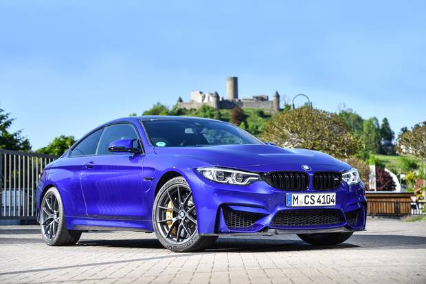Review 2019 Bmw M4 Cs Blends Race Cred With Road Manners The