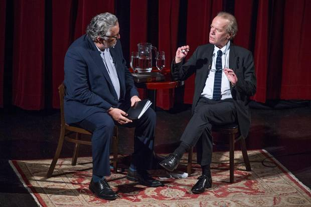 Charlie Foran and Martin Amis