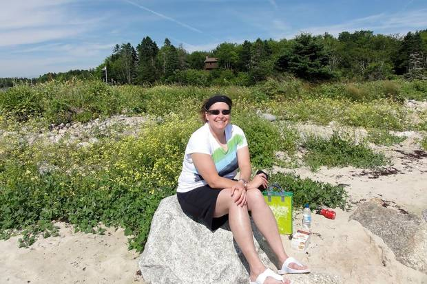 MCpl. Cottreau at Queensland Beach, N.S., in August 2011.