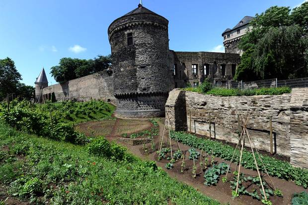 Vacant lots, public squares and other disused land in the picturesque German town of Andernach have been turned into a urban farm.