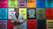 The Vancouver Art Gallery exhibit is created from among thousands of objects Coupland has collected over the years. (John Lehmann/The Globe and Mail)