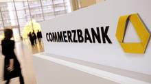 Commerzbank follows at least two other German banks in restricting investments in agriculture. (Thomas Lohnes/AP)