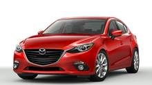 "2014 Mazda3 - Mazda refers to the design of this compact as ""Kodo."" (Mazda)"