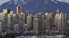 The Vancouver skyline (Albert Normandin/AP)
