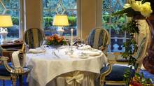 Restaurant Bareiss has earned three Michelin stars.