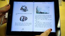 An iPad, Apple's fast-selling tablet computer (AFP/Getty Images)