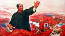 "A painting from the documentary ""Morning Son"" shows Mao's grand strategic plan in 1968. (AFP)"