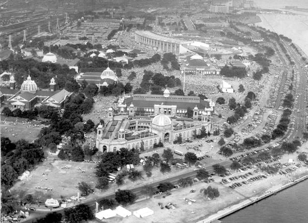 Aerial view of the CNE on Sept. 6, 1948.