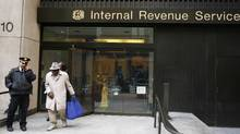 There are roughly a million U.S. citizens in Canada, and by most estimates, a significant percentage of them don't file their taxes with the U.S. Internal Revenue Service, as required by U.S. law. (Lucas Jackson/Lucas Jackson/Reuters)
