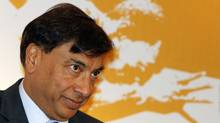 Lakshmi Mittal, chairman and CEO of ArcelorMittal looks on in this 2008 file photo. (B MATHUR/REUTERS)