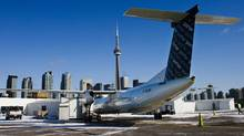 Toronto-based regional carrier Porter Airlines controls 85 per cent of takeoffs and landings at Billy Bishop Toronto City Airport. (© Mark Blinch / Reuters/REUTERS)