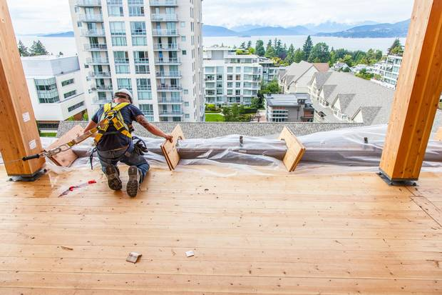 Brock Commons, a student residence at the University of British Columbia, may be the first of many similar timber-frame buildings at the Vancouver university.