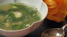 Chicken and Greens Soup (Tim Fraser/Tim Fraser for The Globe and Mail)