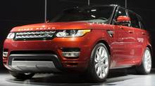 The 2014 Range Rover Sport was unveiled during the 2013 New York International Auto Show. (John Minchillo/AP Photo)