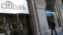 The FDIC quarterly report showed the U.S. banking industry earned $37.6-billion (U.S.) in the third quarter – up $2.3-billion, or 6.6 per cent, from a year earlier. (Keith Bedford/Reuters)