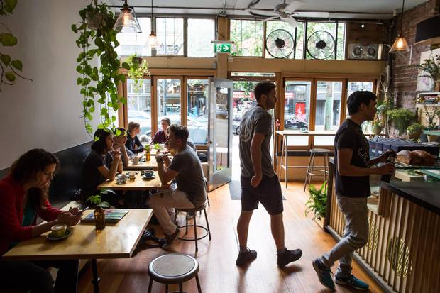 Vancouver's The Birds & The Beets, seen on Thursday, is a whimsically curated café.