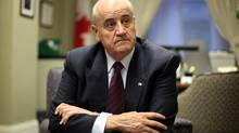 International Co-operation Minister Julian Fantino is pictured in December, 2012. The Conservative government has signalled that it will keep the core mandate of its international development program intact, easing concerns that a planned merger with the Department of Foreign Affairs will hurt Canada's commitment to poverty reduction and humanitarian aid. (Fred Chartrand For The Globe and Mail)