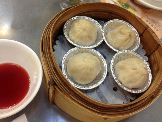 Chewy, greasy, succulent, crunchy, Caterking Dim Sum hits all the late-night meal requirements.