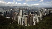 Hong Kong skyline. (PAUL YEUNG/REUTERS)
