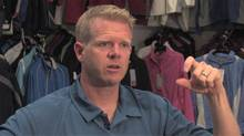 Will Andrew, president of Trimark Sportswear Group