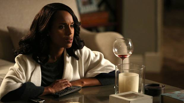 """When speaking of the new season of her hit series Scandal, starring Kerry Washington, Shonda Rhimes told critics here that there was """"no correlation"""" between Scandal and real political events."""