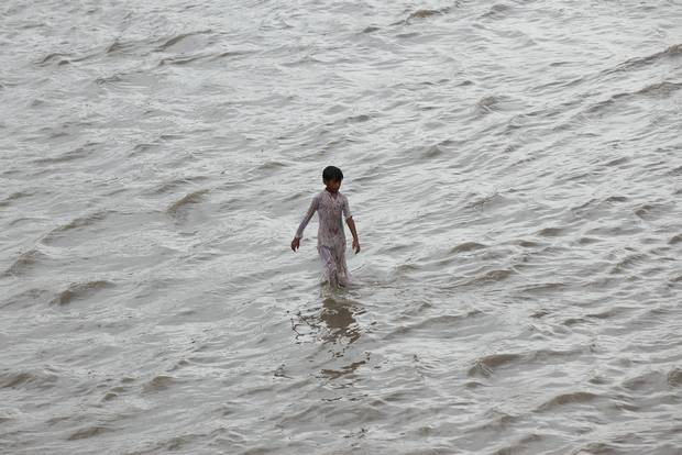 This August, floods claimed 13 lives in Karachi, Pakistan.