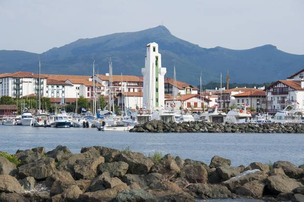 In Ciboure, a pioneering winemaker invented a technique in which Basque grape liquid is poured into vats and buried 45 feet under the bay, where the tides slosh the liquid and infuse it with oxygen and carbon dioxide.