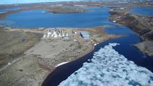 MMG Inc.'s facility at Izok Lake, Nunavut. (Handout)