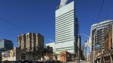 The Peter Gilgan Centre for Research and Learning is the largest high-rise research facility in Canada. (Tom Arban)