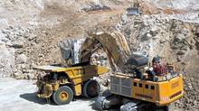 Operations under way at Barrick's Veladero mine in Argentina (Barrick Gold)