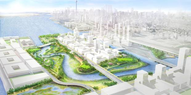 The park is intended to serve the new neighbourhoods and also be a destination for the rest of the city