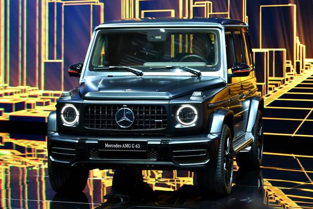 The new Mercedes-AMG G 63.