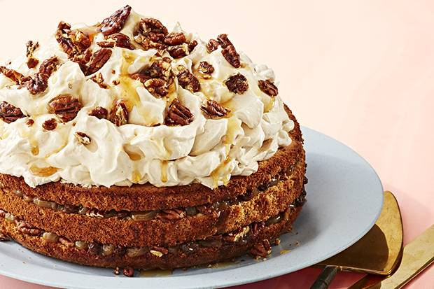 This cake recipe takes the decadence of butter tart flavours to new heights.