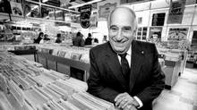 By the end of the 1960s, Sam Sniderman's Sam the Record Man 'was the place to go.' (Fred Lum/The Globe and Mail)
