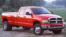2003 Dodge Ram 3500 4 x 4 Quad Cab SLT, Dual Rear Wheel, with Cummins Turbo Diesel (Chrysler)