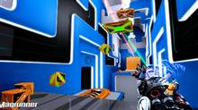 Magrunner may owe its existence to Portal, but fans of that style of first-person puzzle platformer will appreciate the opportunity to play something similar. (Frogwares)