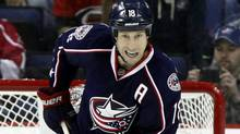 Columbus Blue Jackets' RJ Umberger (Associated Press)