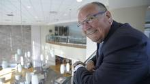 Pelmorex Media chief Pierre Morrissette has donated $5-million to Ivey Business School, from he graduated in 1972. 'It's an opportunity to basically contribute back to tomorrow's leaders.' (J.P. Moczulski for The Globe and Mail)