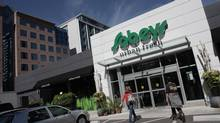 One of Sobeys' Urban Fresh locations in Toronto. (Simon Hayter For The Globe and Mail)