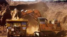 File photo of a Rio Tinto mining operation in Western Australia. (HO/REUTERS)