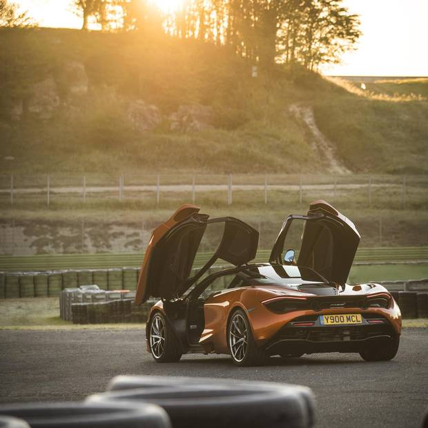 The McLaren 720S is full of ingenious details, from its solarium-like cockpit to headlights that double as radiator air-intakes.