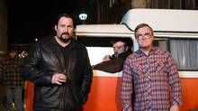 John Paul Tremblay, Robb Wells and Mike Smith star in Trailer Park Boys 3: Don't Legalize It (2014) (www.miketompkins.net/eOne)