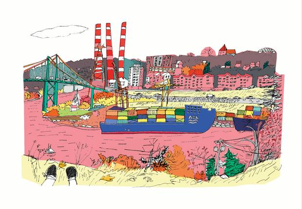 Hand Drawn Halifax: Portraits of the City's Buildings, Landmarks, Neighbourhoods and Residents.