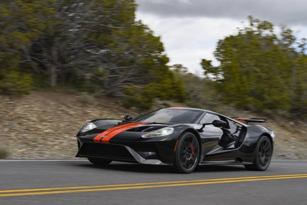The GT boasts a top speed of 348 km/h.