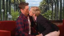 Rob Lowe and Ellen DeGeneres (The Ellen DeGeneres Show)