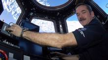 Canadian astronaut Chris Hadfield poses for a photo in this undated handout photo. The Royal Canadian Institute has selected Mr. Hadfield to receive its Sandford Fleming medal for contributions to the public understanding of science. (Chris Hadfield/The Canadian Press)
