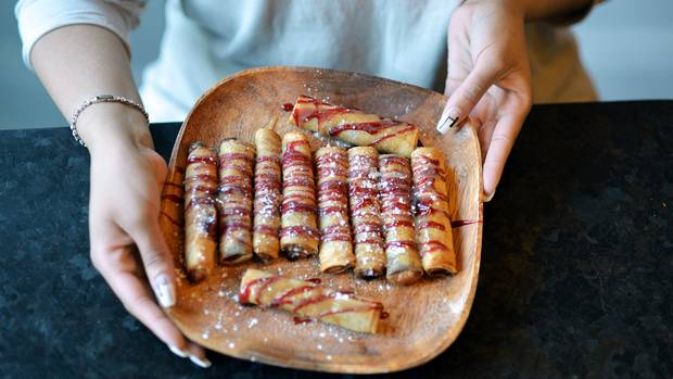 The Nutella Turon dish is pictured at Platito restaurant in Toronto.